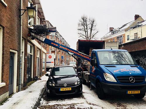 Verhuislift huren in Haarlem